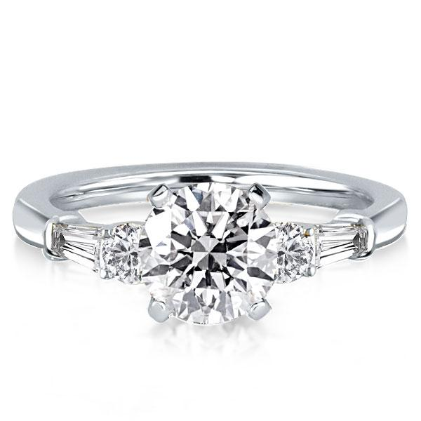 Five Stone Engagement Ring (3.45 CT. TW.), White