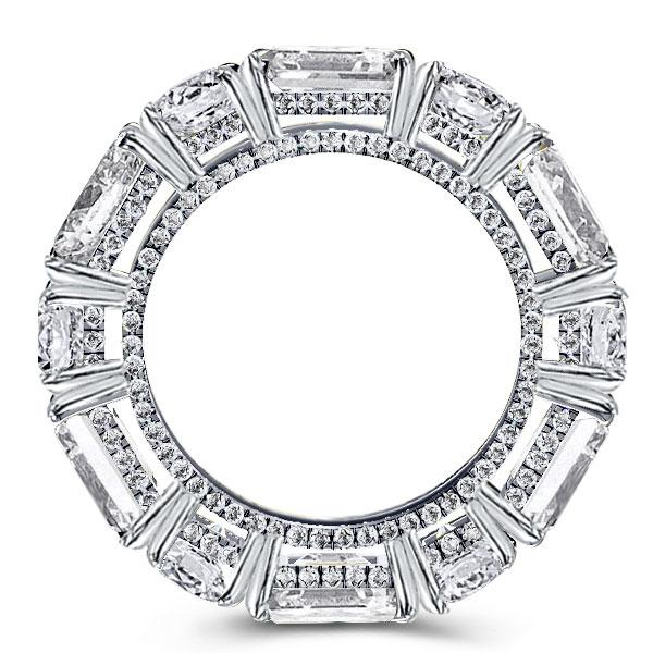 Baguette Eternity Wedding Band(5.65 CT. TW.), White