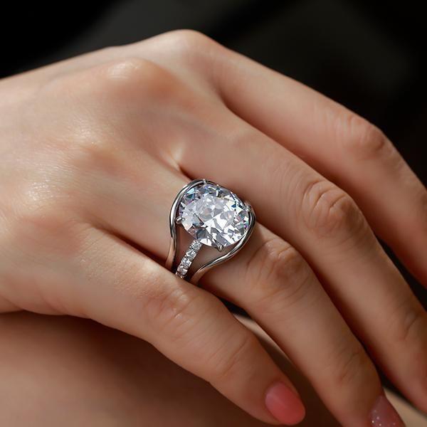 interlocking wedding rings