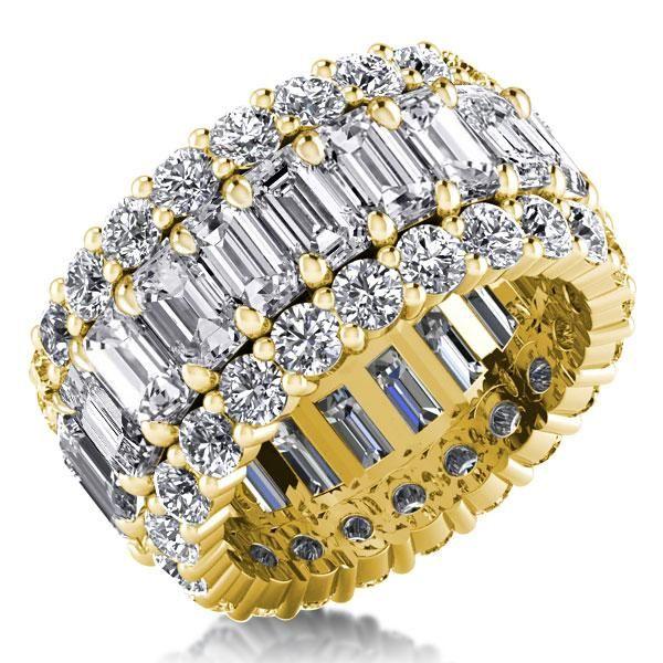 White gold Sapphire Wedding Band