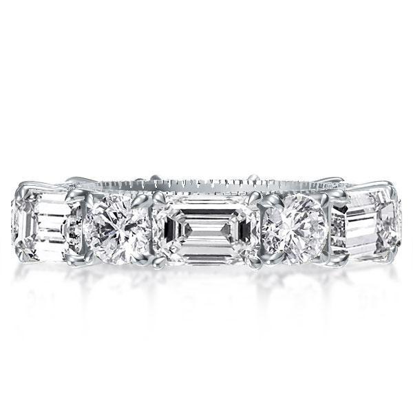 baguette wedding ring