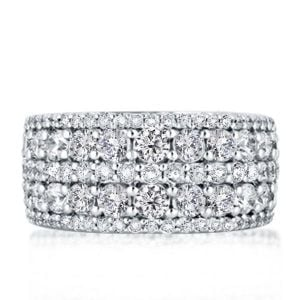 Thick Wedding Bands For Her