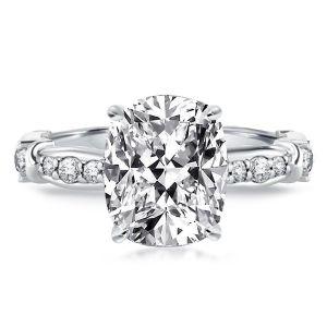 Classic Cushion Cut Engagement Ring