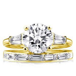 sterling silver bridal sets