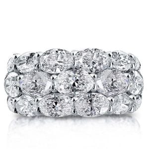 eternity wedding bands for her
