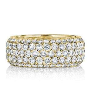 Wide Wedding Bands For Ladies