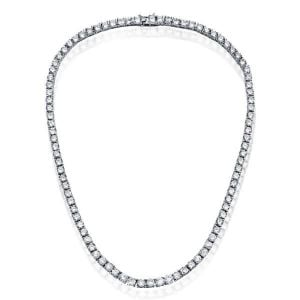 Womens Tennis Necklace