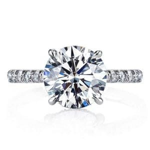 Classic Half Eternity Engagement Ring