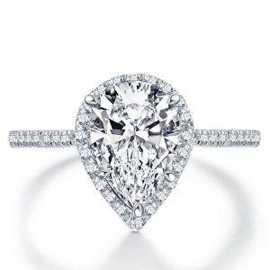 Pear Cut Wedding Ring