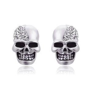 Vintage Skull Stud Earrings