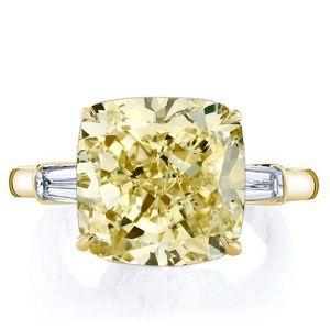 Yellow Sapphire Engagement Rings