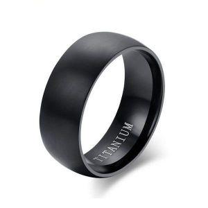 Black Wedding Rings For Men