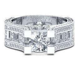 Filigree Engagement Rings