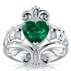 Heart Cut Engagement Ring