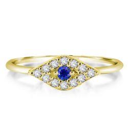 Eye Engagement Ring