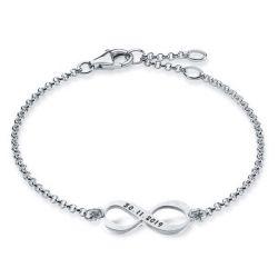 Personalized Infinity Date Bracelet