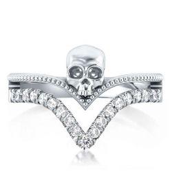 Skull Engagement Ring