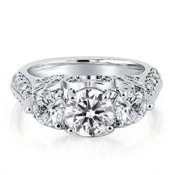 Round Wedding Ring