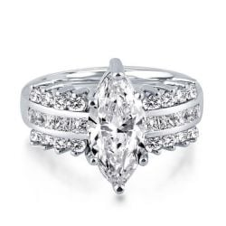 Vintage Marquise Engagement Ring