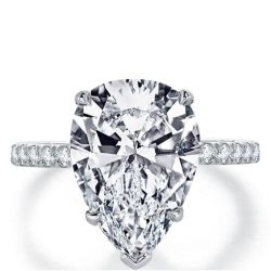 Affordable Pear Shaped Engagement Rings