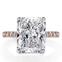 Tow Tone  Engagement Ring