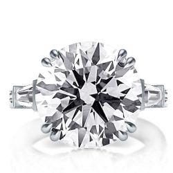 White Sapphire Wedding Rings