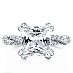 Eternity Engagment Rings For Women