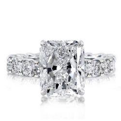 Radiant Cut Eternity Ring