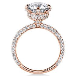 Six-prong Engagement Ring