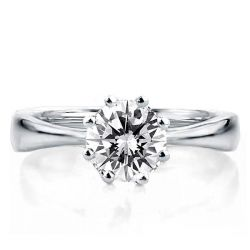 Eight-prong  Solitaire Engagement Ring(2.00 CT. TW.)