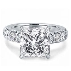 Princess Cut Diamond Wedding Ring
