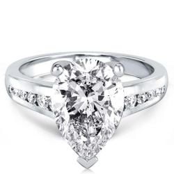 Classic Pear Cut Engagement Ring(3.25 CT. TW.)