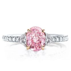 Pink Engagement Rings For Women