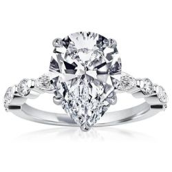 Classic Pear Cut Engagement Ring