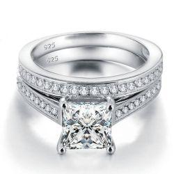 Italo Classic Created White Sapphire Bridal Set (2.43 CT. TW.)