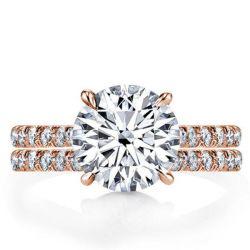 Rose Gold Engagement Rings For Women