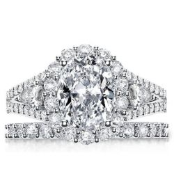 Promise And Engagement Ring Set