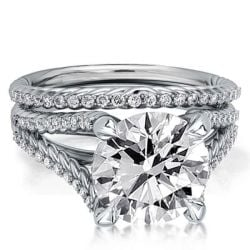 Wedding Rings And Engagement Rings Set