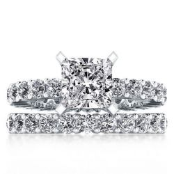Classic Eternity Princess Bridal Set
