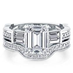 Five Stone Bridal Set