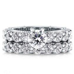 Single Stone Bridal Set Rings (2.90CT. TW.)