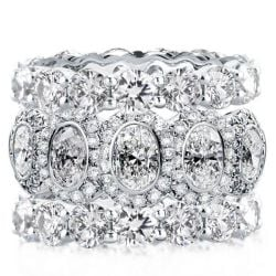 Triple Row Stackable Band Set (18.00  CT. TW.)