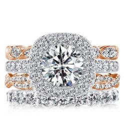 Engagement Rings Stackable Band Set