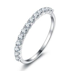 Half Eternity Round Wedding Band (0.39 CT. TW.)