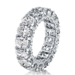 Wedding Band For Oval Halo Ring