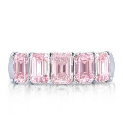 Pink Wedding Bands