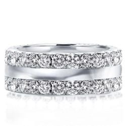 Claccis Round Wedding Band