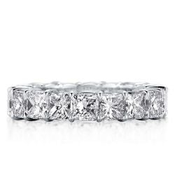 Classic Eternity Princess Wedding Band