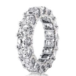 Eternity Wave Asscher Cut Wedding Band (2.56 CT. TW.)