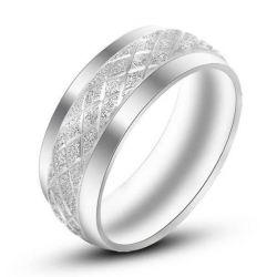 Tungsten Steel Wedding Rings